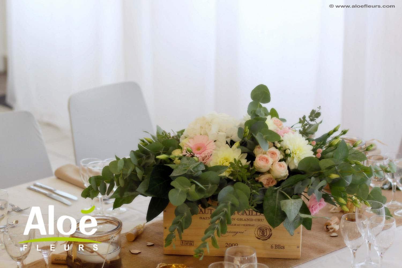 4 tendances mariage 2018 pour les décoration florales de mariage et